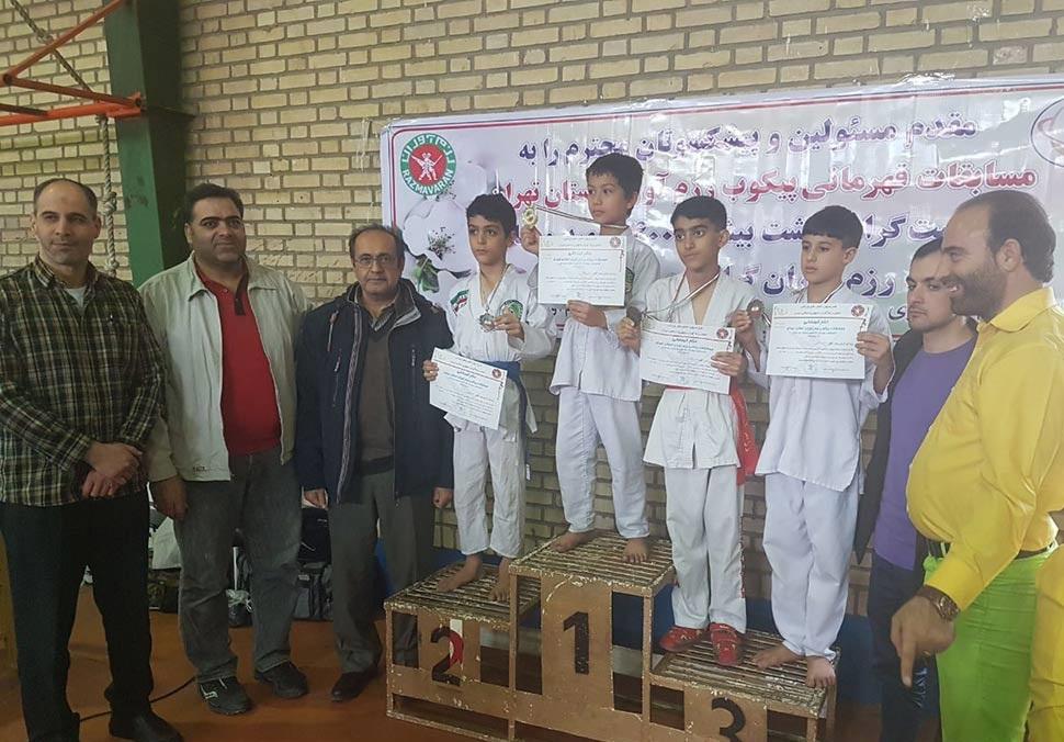 نتایج مسابقات قهرمانی پیکوب آقایان رزم آوران استان تهران