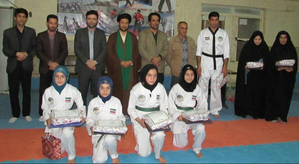 مراسم تجلیل از قهرمانان استان همدان با حضور مسئولین استان