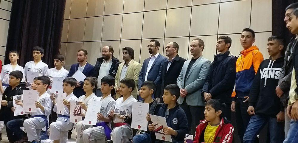 حمید رجایی در مراسم تجلیل از قهرمانان استان رزم آوران استان تهران